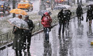 В Москве прогнозируют ледяные дожди