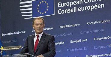 Туск: США и ЕС считают необходимым сохранять в силе санкции против России