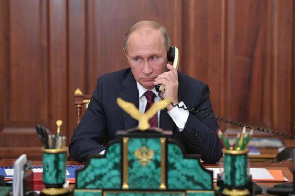 Путин,Трамп и король саудитов обсудили нефтяные вопросы