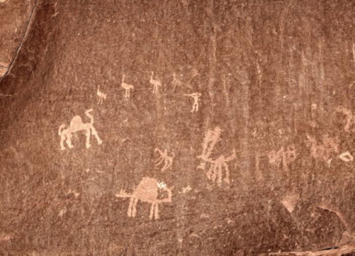 Учёные установили авторов наскальных рисунков возрастом 6,5 тыс. лет