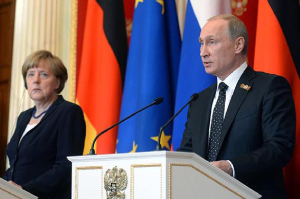 Ангела Меркель назвала Путина победителем на саммите