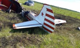В Нижегородской области разбился самолет Як-52