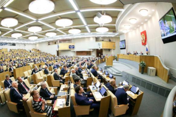 Депутаты хотят изменить режим работы Госдумы на время прямой линии с Путиным