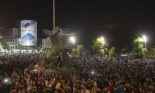 Полторы сотни сербов задержаны из-за беспорядков
