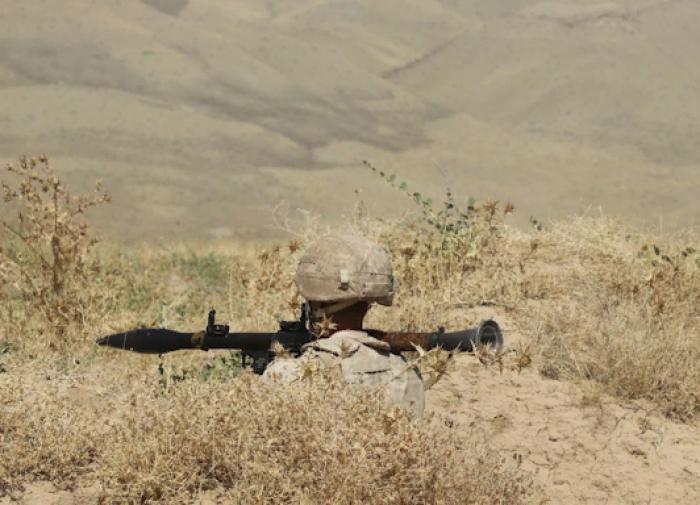 Российские военные уничтожили условного противника в Таджикистане