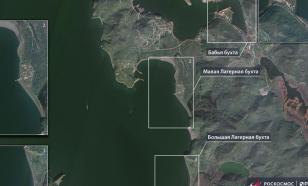 """""""Роскосмос"""" опубликовал снимки пострадавшего побережья Камчатки"""