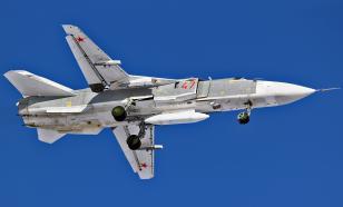 В Приморье при транспортировке Су-24М упал в кювет