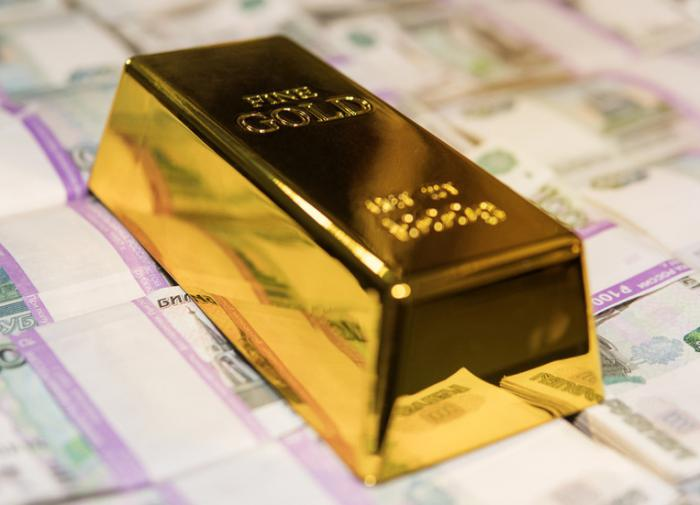 Стоимость золота за 20 лет увеличилась в 18 раз