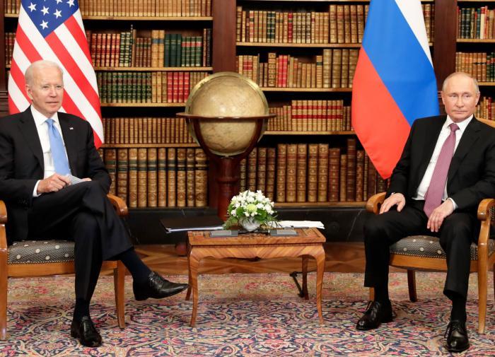 Собчак сравнила слова Байдена и Путина после их встречи в Женеве