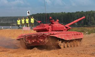 Эшелоны китайских танков прибыли в Россию