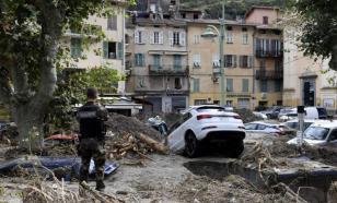 """Шторм """"Алекс"""": разрушительное наводнение во Франции и Италии"""
