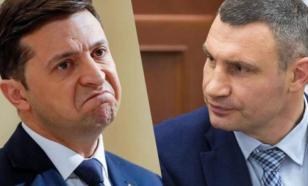 Украинцы высмеяли Зеленского из-за инцидента с Кличко