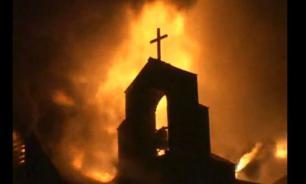 Ничего святого: в Киеве подожгли храм