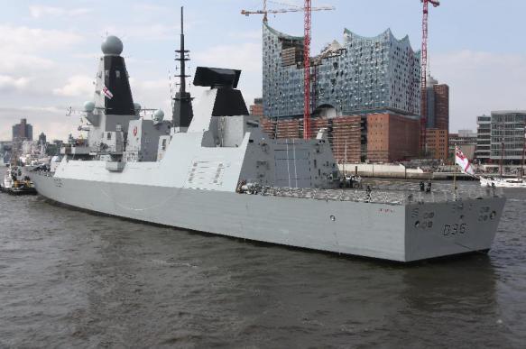 Корабль ВМС Великобритании захватил груз наркотиков за 3 млн фунтов