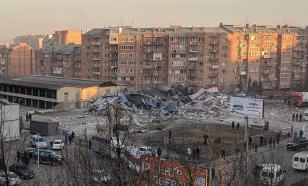 Во Владикавказе взрывом полностью уничтожено трёхэтажное здание