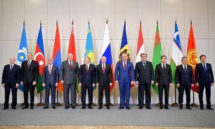 Саммит СНГ: семейный корпоратив с алабаем Путина