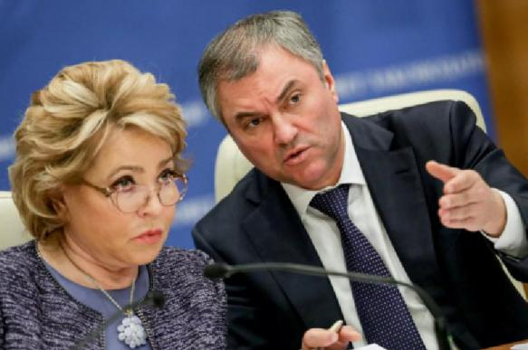 Спикеры Госдумы и Совфеда поспорили о роли женщин в политике