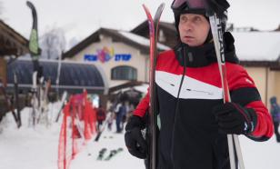 """""""Путин"""" на лыжах и без"""