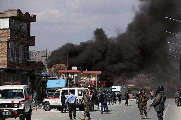 В дипквартале Кабула взорвали бомбу