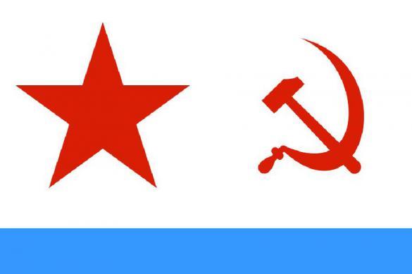 В Одессе 23 февраля задержали мужчин, развернувших флаг ВМФ СССР