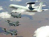 Резиденция Каддафи в Триполи подверглась бомбардировке. авиация нато самолеты