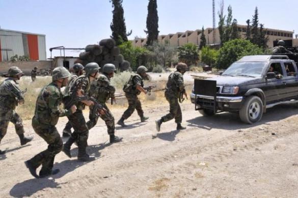 Боевики сдались сирийским военным в Дейр-эз-Зоре
