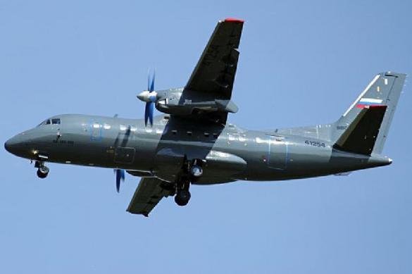 В России представили самолет-фотограф на базе серийного Ан-140