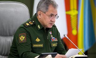 Шойгу: случаев заболевания COVID-19 в армии не выявлено