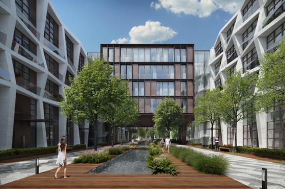 Элитное жилье в центре Москвы стали строить с зелеными зонами