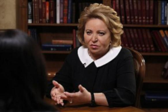 Матвиенко: впрямую я не предлагала создать министерство счастья