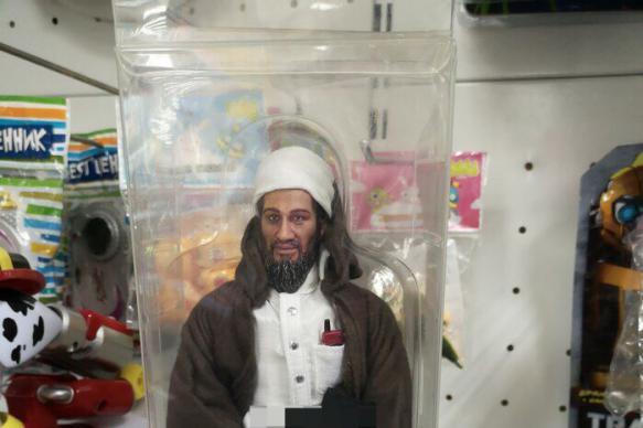 Магазин игрушек убрал из продажи похожих на Усаму бен Ладена кукол