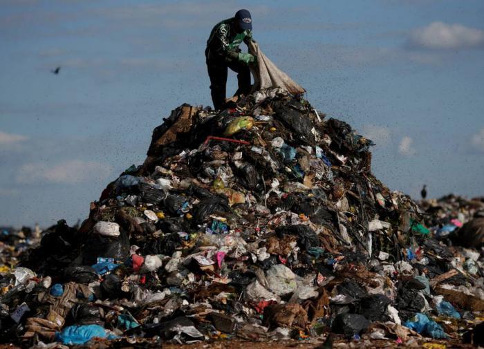 В Петербурге обнаружили несколько незаконных мусорных полигонов