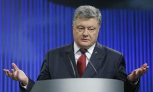 Порошенко жестко отказался от компромисса с Донбассом