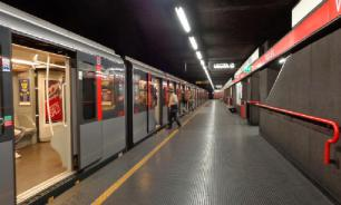 В метрополитене Неаполя столкнулись три поезда