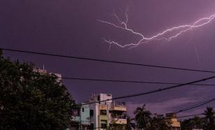 В Индии более сотни человек стали жертвами молний