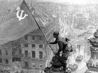 Суд Украины запретил красное знамя Победы.