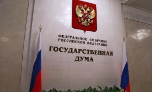 В Госдуме оценили отказ США в выдаче виз российской делегации