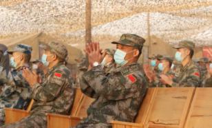 Ансамбль ЮВО выступил перед военнослужащими армии Китая