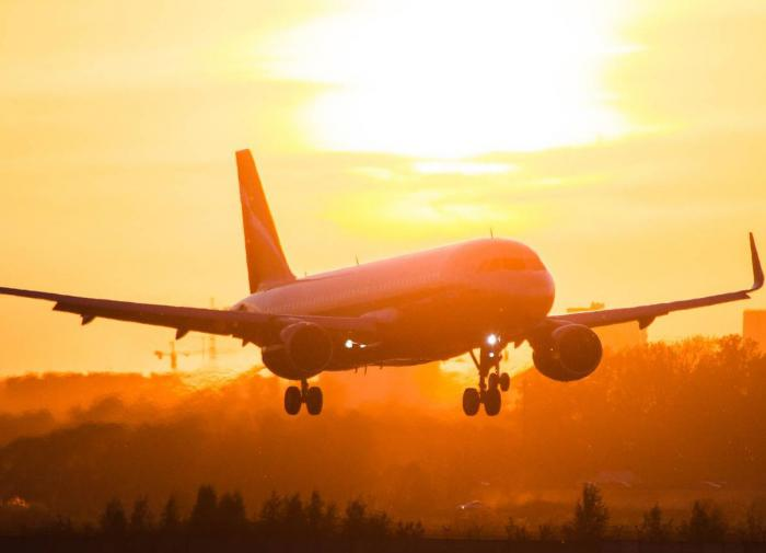 Стойка шасси разрушилась у самолёта в аэропорту Внуково