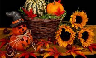 Украшаем сад к Хэллоуину