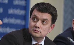 Разумков исключил возможность амнистии для ополченцев Донбасса