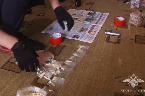 У наркоторговцев изъяли семь килограммов героина и детское питание