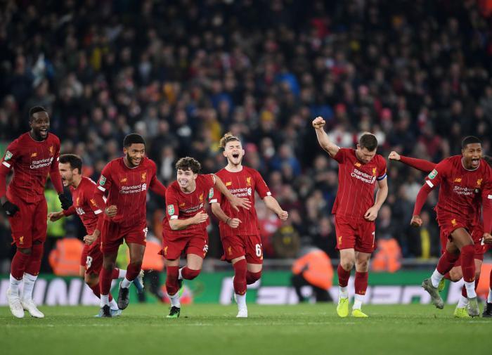 """""""Ливерпуль"""" оформил самый быстрый титул в истории английского футбола"""