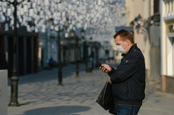 В Москве за сутки коронавирус подхватили почти две тысячи человек