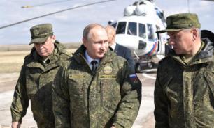 На военных учениях с участием Путина при запуске ракеты произошел сбой