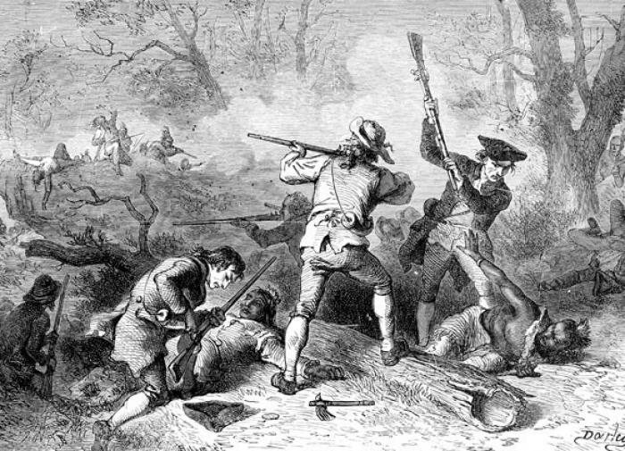 Первые поселенцы в США были святошами-убийцами
