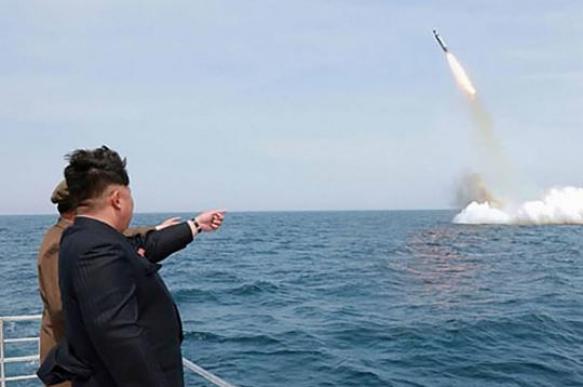 """В Южной Корее идентифицировали запуск """"неопознанных ракет"""" в КНДР"""