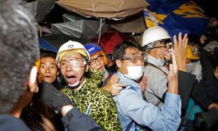 Гонконг готовится встретить Новый год протестами