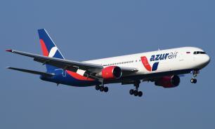 Лайнер Azur Air подал сигнал ЧП и вернулся в Анталию