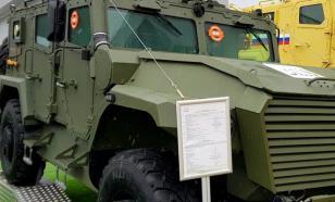 """Обозначены сроки испытаний бронеавтомобиля """"Атлет"""" 4х4"""